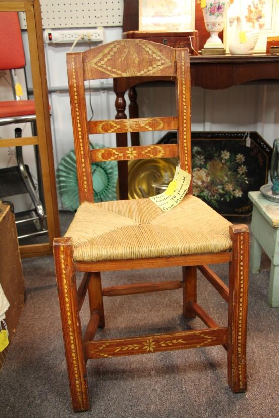 Antique handmade chair